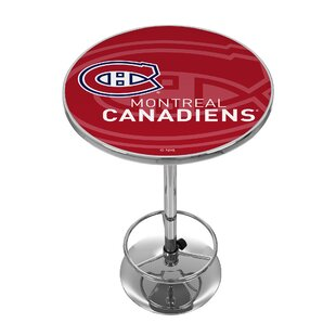 Trademark Global NHL Watermark Pub Table