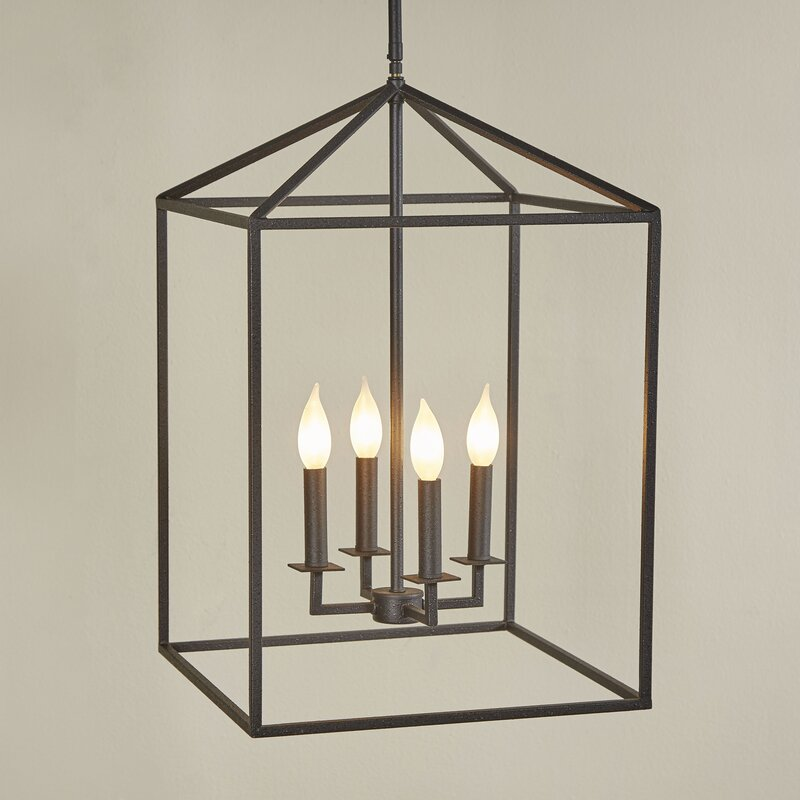 Odie 4 Light Foyer Pendant