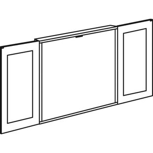 Fairplex Magnetic Whiteboard, 47 x 47 by Flexsteel Contract
