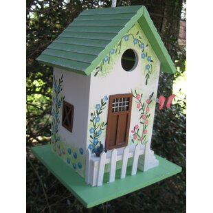 Home Bazaar Hatchling Series Butterfly Cottage 9.5 in x 7 in x 7 in Birdhouse