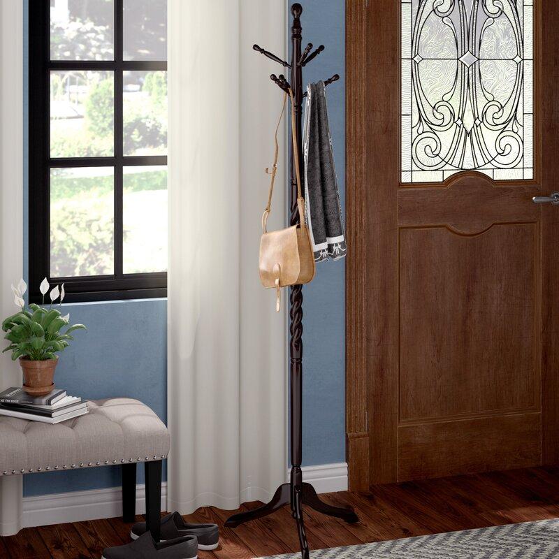 Charlton Home Twist Coat Rack Reviews Wayfair Simple Twist Coat Rack