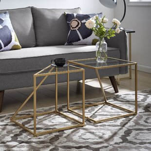 Reviews Vann 2 Piece End Table by Mercer41