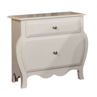 Auberkonos 2 Drawer Nightstand