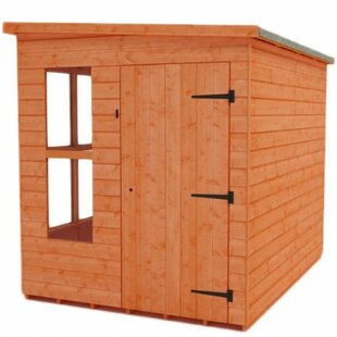 Tiger 6 Ft. W X 10 Ft. D Shiplap Pent Wooden Shed By Tiger Sheds