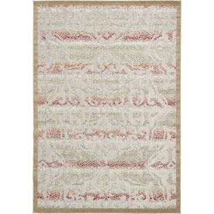 Lorenza Beige Indoor/Outdoor Area Rug