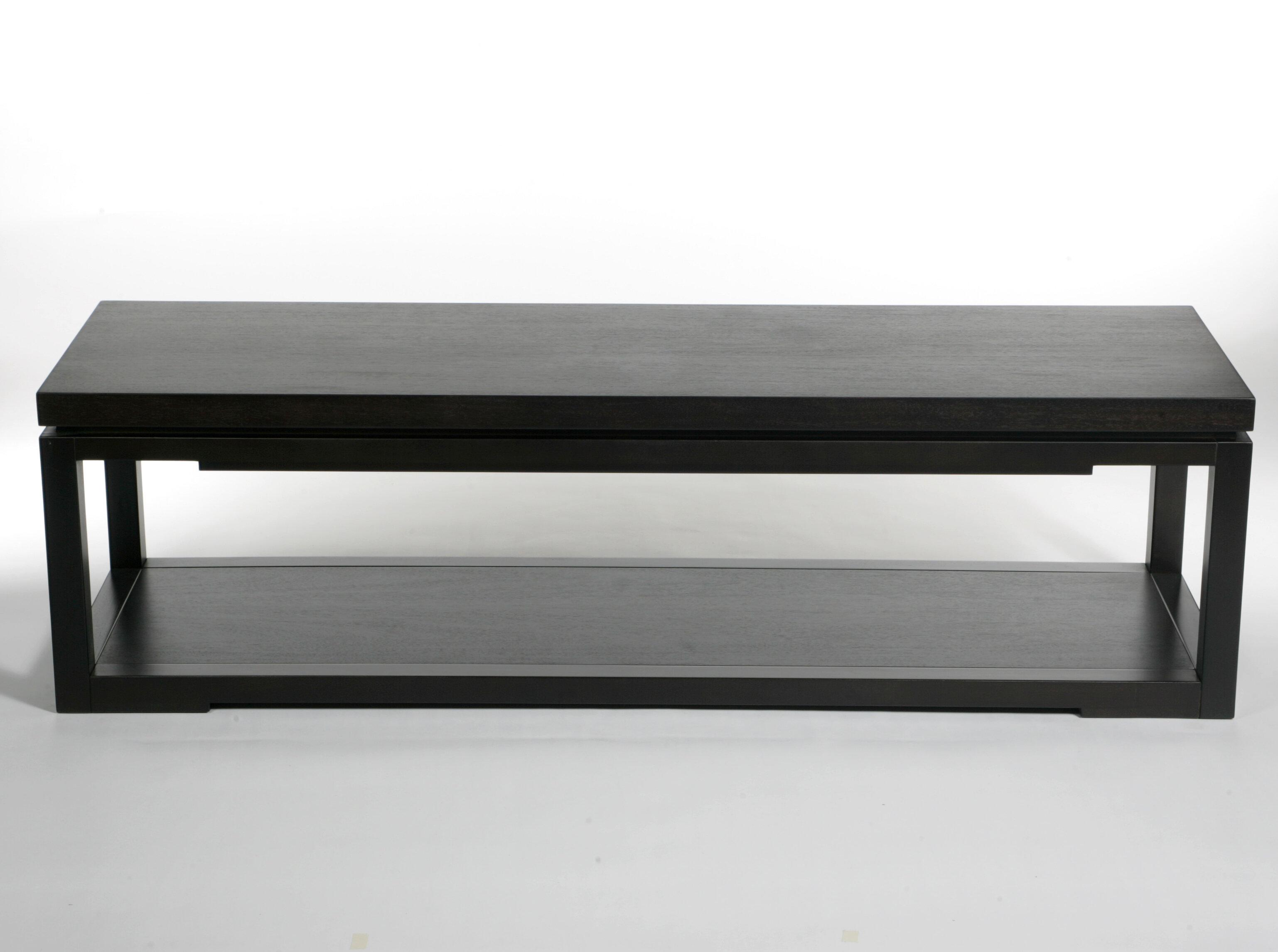 Brayden Studio Hardiman Solid Wood Coffee Table With Tray Top Wayfair