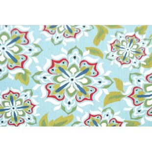 Best Price Handmade Blue Indoor/Outdoor Area Rug By The Conestoga Trading Co.