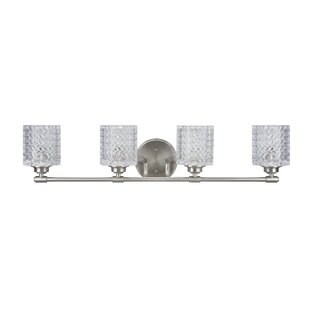 Orren Ellis Kirksey Metal 4-Light Vanity Light