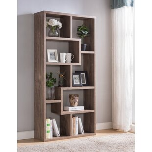 Affordable Case Habra Standard Bookcase By Wrought Studio