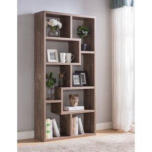 Westin Geometric Bookcase by Wrought Studio