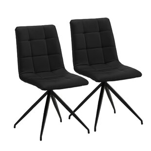 Gibbon Upholstered Dining Chair (Set of 2) by Wrought Studio