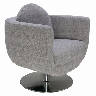 Nuevo Simone Swivel Barrel Chair