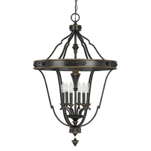 Alcott Hill Higham 6-Light Geometric Chandelier