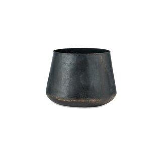 Endo Metal Plant Pot By Nkuku