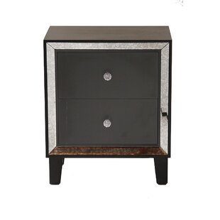 Tommen 2 Drawer Nightstand