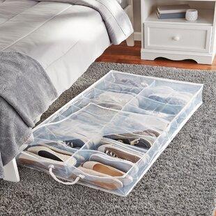 Superior 2 Compartment Underbed Shoe Storage Amazing Pictures
