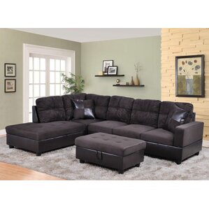 Isabella Sectional by Beverly Fine Furniture