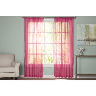 Pink curtains and drapes youll love wayfair solutioingenieria Image collections