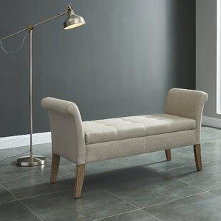 Charlton Home Alissa Upholstered Storage Bench