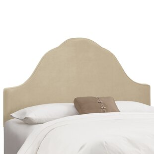 Arched Upholstered Panel Headboard