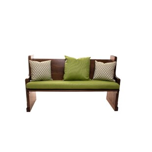Rosecliff Heights Grass Indoor/Outdoor Sunbrella Bench Cushion