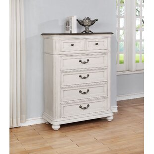 One Allium Way Alisa 5 Drawer Chest