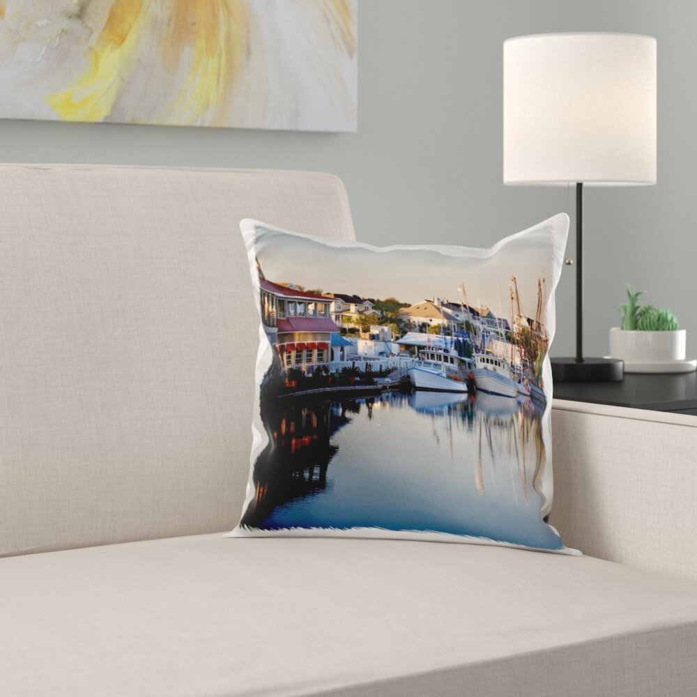 East Urban Home Sunrise Along Shems Creek Charleston South Carolina 16 Throw Pillow Cover Wayfair