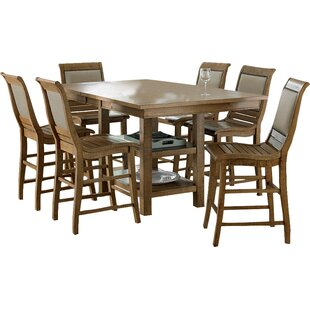 Castagnier 7 Piece Extendable Dining Set by Lark Manor