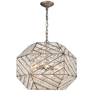 Mercer41 Swinton 8-Light Geometric Chandelier