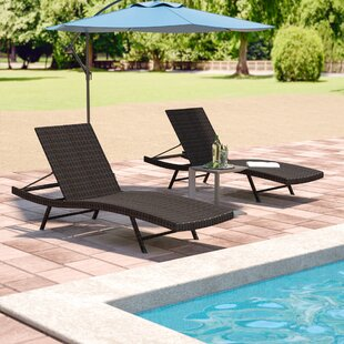 Varley Chaise Lounge (Set of 2) by Wade Logan