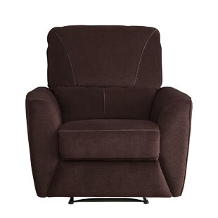 Red Barrel Studio Zane Upholstered Plush Cushioned Manual Recliner