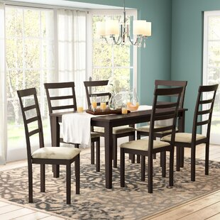 Lafayette 7 Piece Dining Set Red Barrel Studio