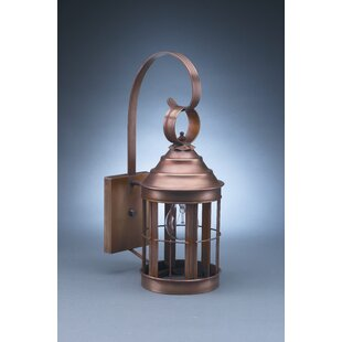 Aparicio 1-Light Outdoor Wall Lantern by ..