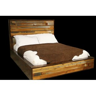 Urban Rustic Platform Bed