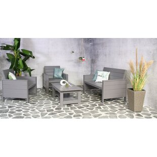 Leday 4 Seater Sofa Set By Sol 72 Outdoor