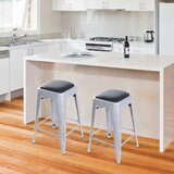 Apsel Bar & Counter Stool by 17 Stories