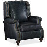 Balmoral Genuine Leather Recliner by Hooker Furniture