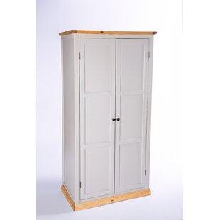 Encarnacion 2 Door Wardrobe By Brambly Cottage