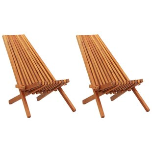 Petrolia Folding Deck Chair (Set Of 2) By Bay Isle Home