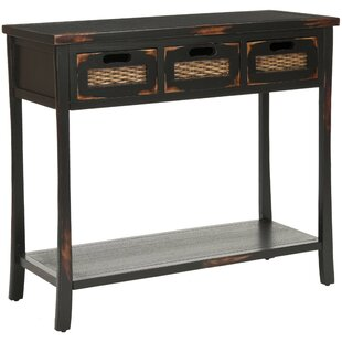 Maura 3 Drawer Console Table By House Of Hampton
