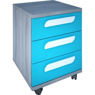 Duffin 3 Drawer Nightstand