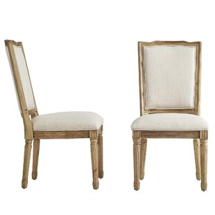 Lachance Ornate Upholstered Dining Chair (Set of 2)