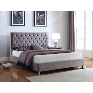 Barrera Upholstered Bed Frame By Rosdorf Park