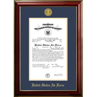 Air Force Certificate Classic Picture Frame By Patriot Frames