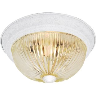 Winston Porter Kaufmann 3-Light Flush Mount
