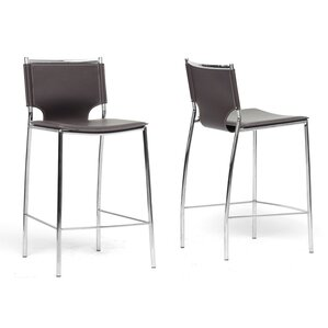 Montclare 26  Bar Stool (Set ...  sc 1 st  AllModern : chrome swivel bar stools with back - islam-shia.org