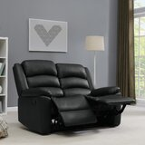 Burlingame Reclining 58 Pillow Top Arm Loveseat by Red Barrel Studio®