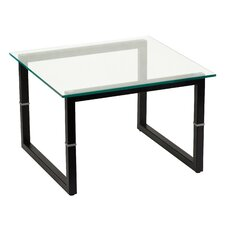 Glass End Table by Flash Furniture