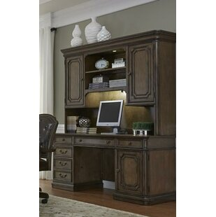 Passabe Executive Desk with Hutch By August Grove