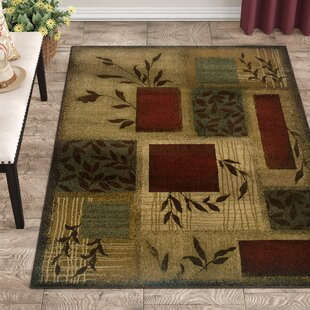 Shop For Abell Beige/Wine Red Area Rug By Fleur De Lis Living